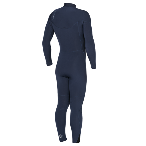 Manera Wetsuit 543 Meteor Magma back Sailor blue