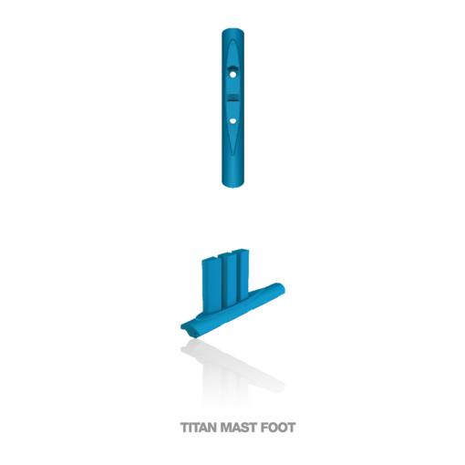F-ONE Foil Titan mast foot