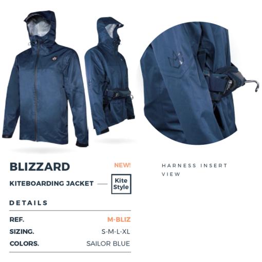 Manera Blizzard kitejack details