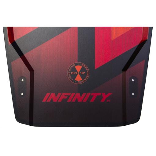 Ozone twintip Infinity V1 Red wood tip