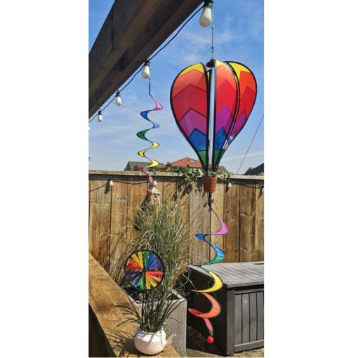 Windgame Set Balloon Twist Wheel Real
