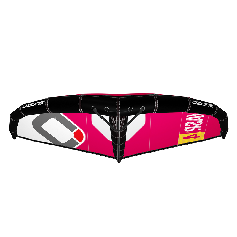 Ozone_Wasp_V2_Wing_Red_Rubine_front